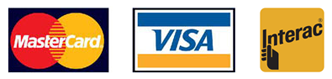 Visa, Mastercard and Interac